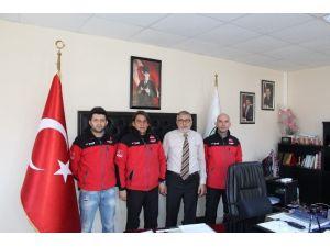 Dak Ekibinden Başkan Bozkurt'a Ziyaret