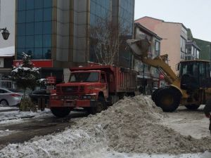 Kars Belediyesi'nin Kar Timleri Görev Başında!