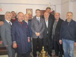 MHP Milletvekili Aydın, Yakutiye Esnaf Ve Sanatkarlar Kredi Ve Kefalet Kooperatifini Ziyaret Etti