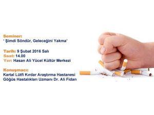 Dr. Ali Fidan Kartallılara Sigaranın Zararlarını Anlattı