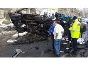 Erzurum'da Feci Kaza: 3 Ölü, 2 Ağır Yaralı