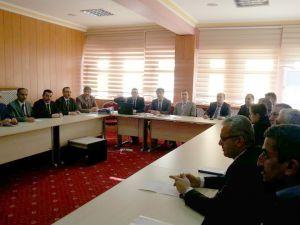 Yozgat'ta İl Uyuşturucu ile Mücadele Kurulu toplandı