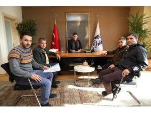 Gündoğanspor Kulübü'nden Başkan Kocadon'a Ziyaret