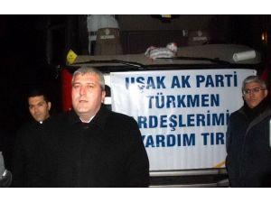 Uşak AK Parti, Bayırbucak Türkmenlerine Yardım Gönderdi