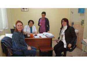 132 Kadına Kanser Taraması