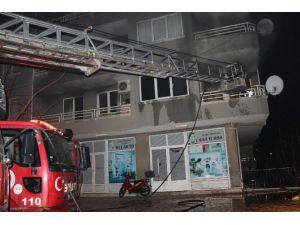 Didim'de Yangın Korkuttu