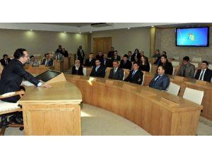Rektör Bircan, Görevde Yükselen Personeli Ağırladı