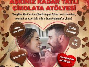 İzmir'de Aşıklara Özel Çikolata Atölyesi