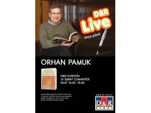 Orhan Pamuk, yeni romanı için okuyucularıyla buluşuyor