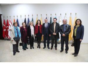 CHP İlçe Başkanı Atabey'den Başkan Duruay'a Ziyaret