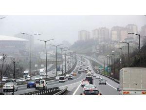 Erzurum'da Trafiğe Kayıtlı Araç Sayısı Aralık Ayı Sonu İtibariyle 106 Bin 794 Oldu