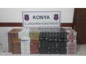 Ereğli'de 7 Bin 500 Paket Kaçak Sigara Ele Geçirildi