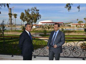 Vali Türker, EXPO 2016 Antalya Alanını İnceledi
