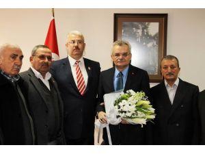 Şehit ve Gazi Aileleri Derneği Vali Özcan'ı ziyaret etti