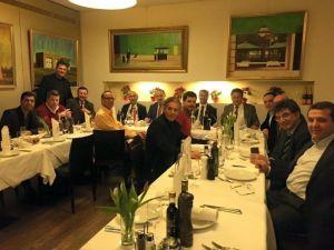Başkan Atabay Almanya'da Turizmcilerle Bir Araya Geldi
