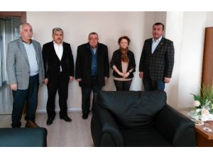 Oda Başkanlarından Vergi Dairesi'ne Ziyaret
