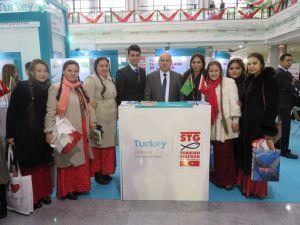 Türkmenistan sofralarını Türk balıkları süsleyecek
