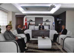 Ticaret Borsası Başkanı Özbey'den Fka'ya Ziyaret