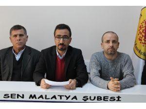 Eğitim-sen 10 Ekim De Ankara Patlamasında Ölenleri Andı