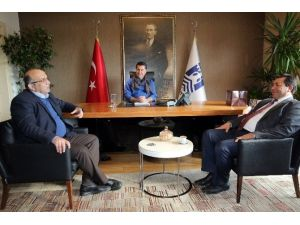 CHP Muğla İl Başkanı'ndan Başkan Kocadon'a Ziyaret