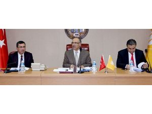 İnönü'de Genel Kurul Toplantısı Yapıldı