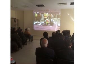 Tarsus'ta ilk yardım semineri verildi