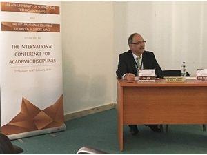Rektör Çelik, Birleşik Arap Emirlikleri'ndeki Konferansa Katıldı