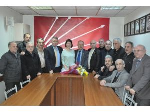 Muhtarlar'dan CHP'ye Ziyaret