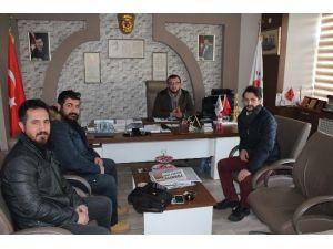 Feda Film Ekibinden Sami Yavaş'a Ziyaret