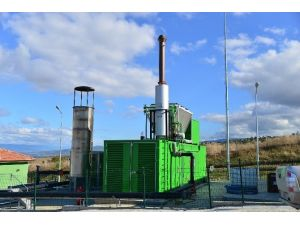 Erbaa'da Çöpten Elektrik Üretimi
