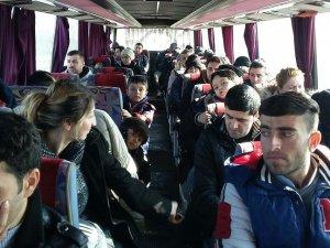 Edirne'de sığınmacı operasyonu