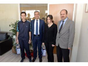 Belediye başkanı, Polatlılı TEOG birincilerini ödüllendirdi