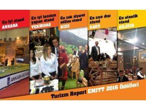 Turizm Report EMITT 2016 Fuarı'nın 'En İyi'lerini Belirledi