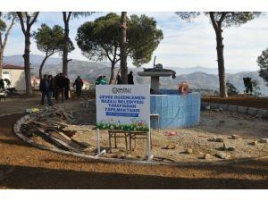 Nazilli'nin Hasköy Mahallesi Parkı Yenileniyor