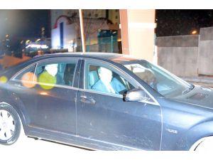 Abdullah Gül, Arınç'ın evinden ayrıldı