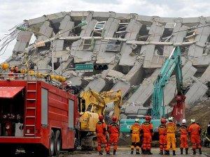 Tayvan'daki deprem'de ölü sayısı 55'e yükseldi