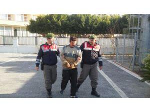Hırsızlıktan hüküm giymiş kişi yol denetimde yakalandı