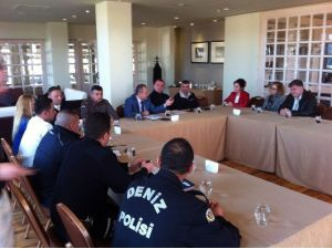 Didim'de Liman Güvenliği Toplantısı Yapıldı