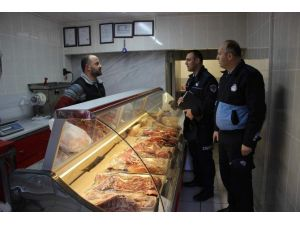 Artvin Belediyesi'nden ET Ürünlerine 'Tavan Fiyat' Denetimi