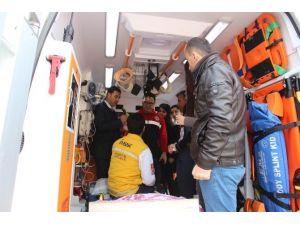 Özel Hastane Çalışanlarına Ambulans Eğitimi