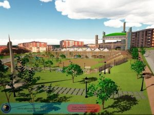 Kartal'da Meydan Ve Park Çalışmaları Tüm Hızıyla Devam Ediyor