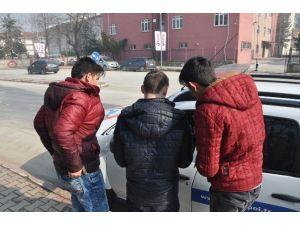 Öğrencilere Polis Koruması