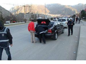 Amasya'da Huzur Operasyonu: 5 Gözaltı