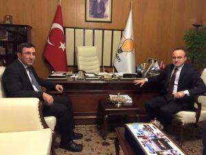 Kalkınma Bakanı Yılmaz Turan'ı Ziyaret Etti