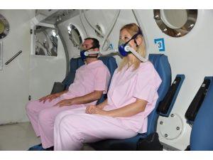 Hiperbarik Tıp Ünitesi Hayata Döndürüyor