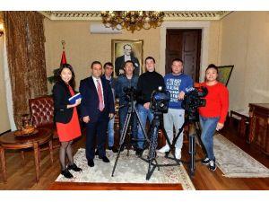 Vali Türker Kazakistan Kanalına Röportaj Verdi