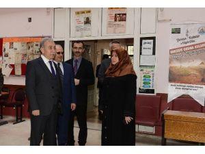 Vali Büyük, Tepebağ Anadolu İmam Hatip Lisesi'ni Ziyaret Etti
