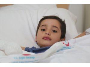 Afganistanlı Semir Tedavi Altına Alındı