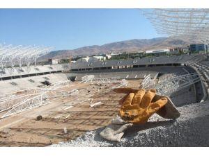 Malatya Arena'da Yoğun Mesai