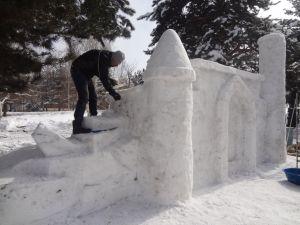 Kardan 'Minia-Erzurum' görenleri hayran bıraktı
